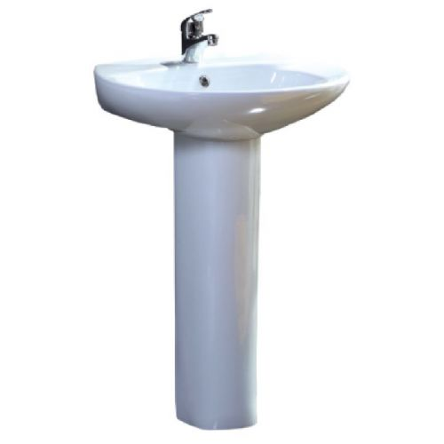 Elite Rapido Basin & Full Pedestal 570mm